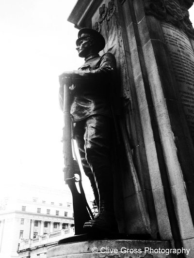 War Memorial Monument Bank London