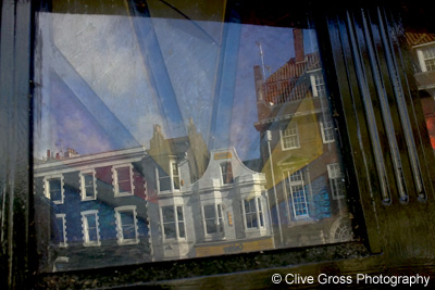 Brighton leaded window