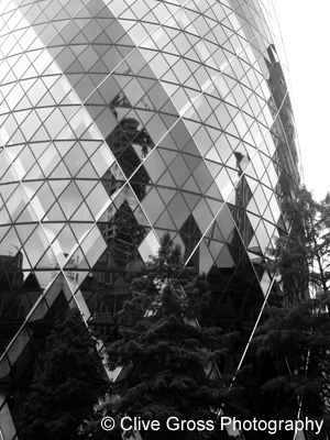 The Gherkin City of London