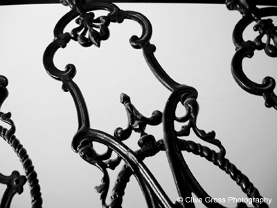 Victorian staircase detail