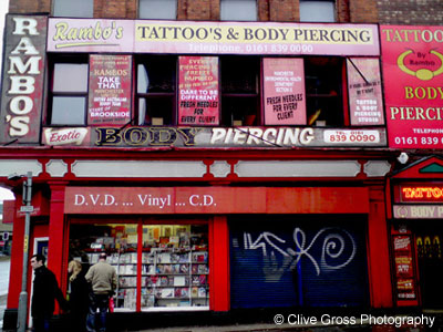 Rambos Tattoo Parlour Manchester
