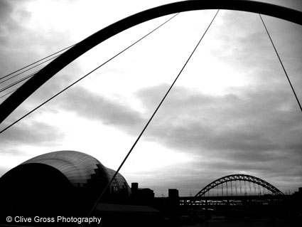 Sage Gallery and Tyne Bridge