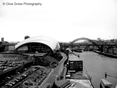 Sage Gallery and Tyne river