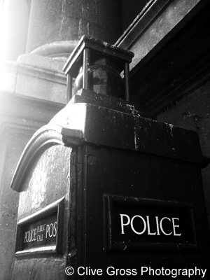Police Box Guildhall City of London
