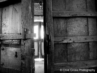 Stone Parish Church wooden doors